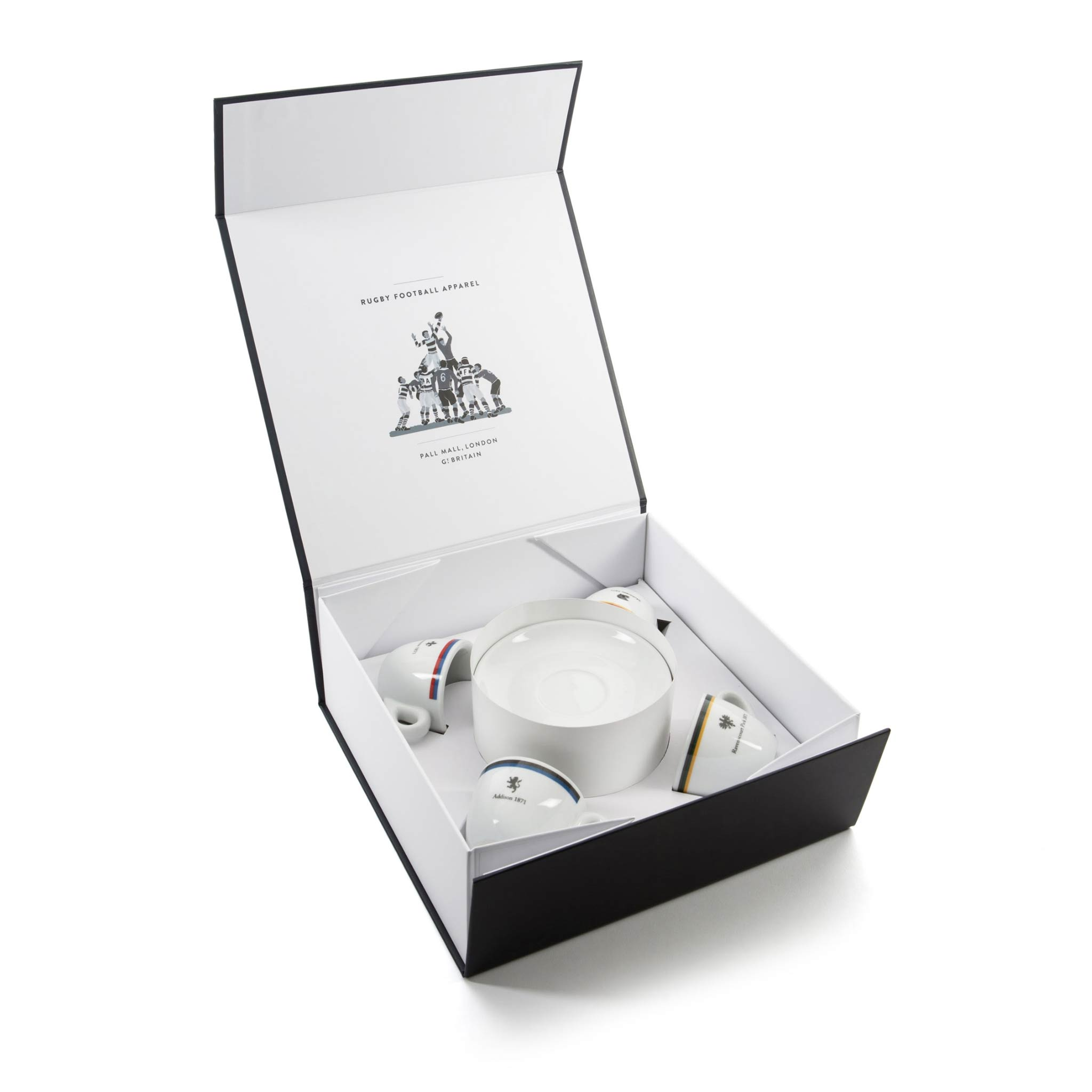 Espresso gift box with cups - open
