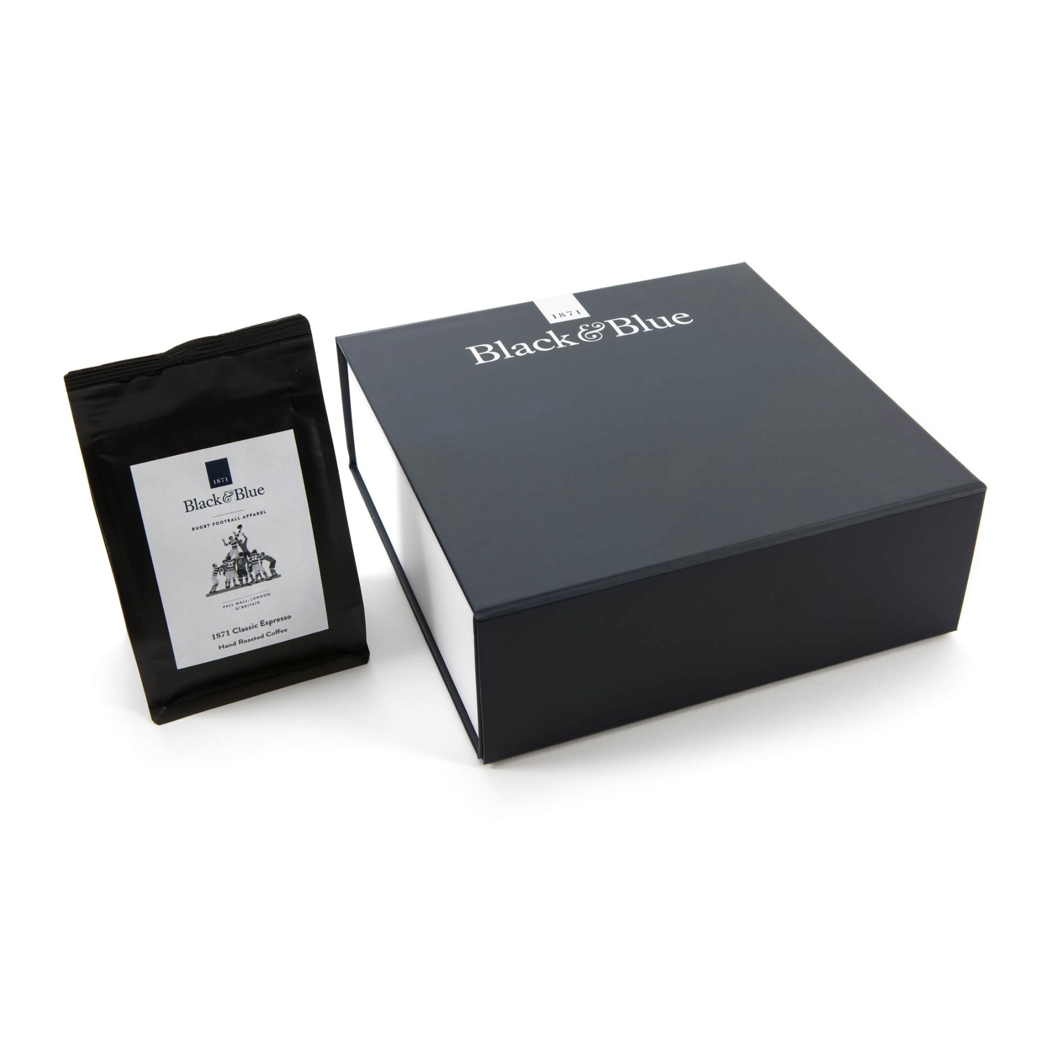 Espresso gift box and coffee - closed