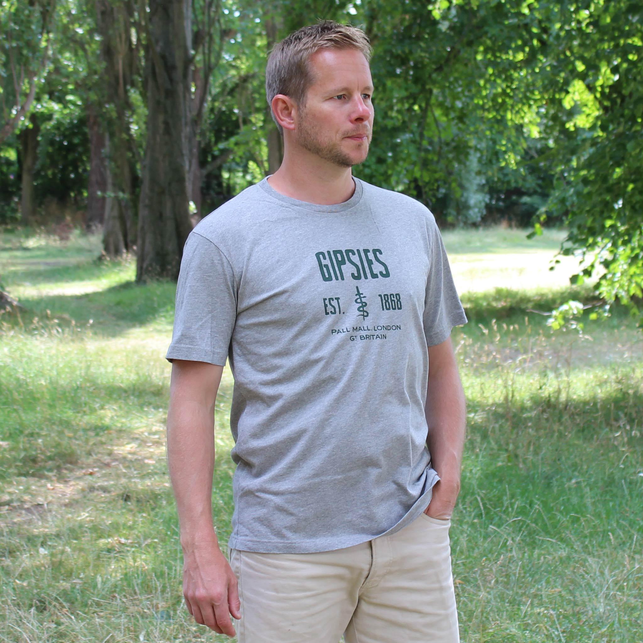 Gipsies Grey T-shirt model