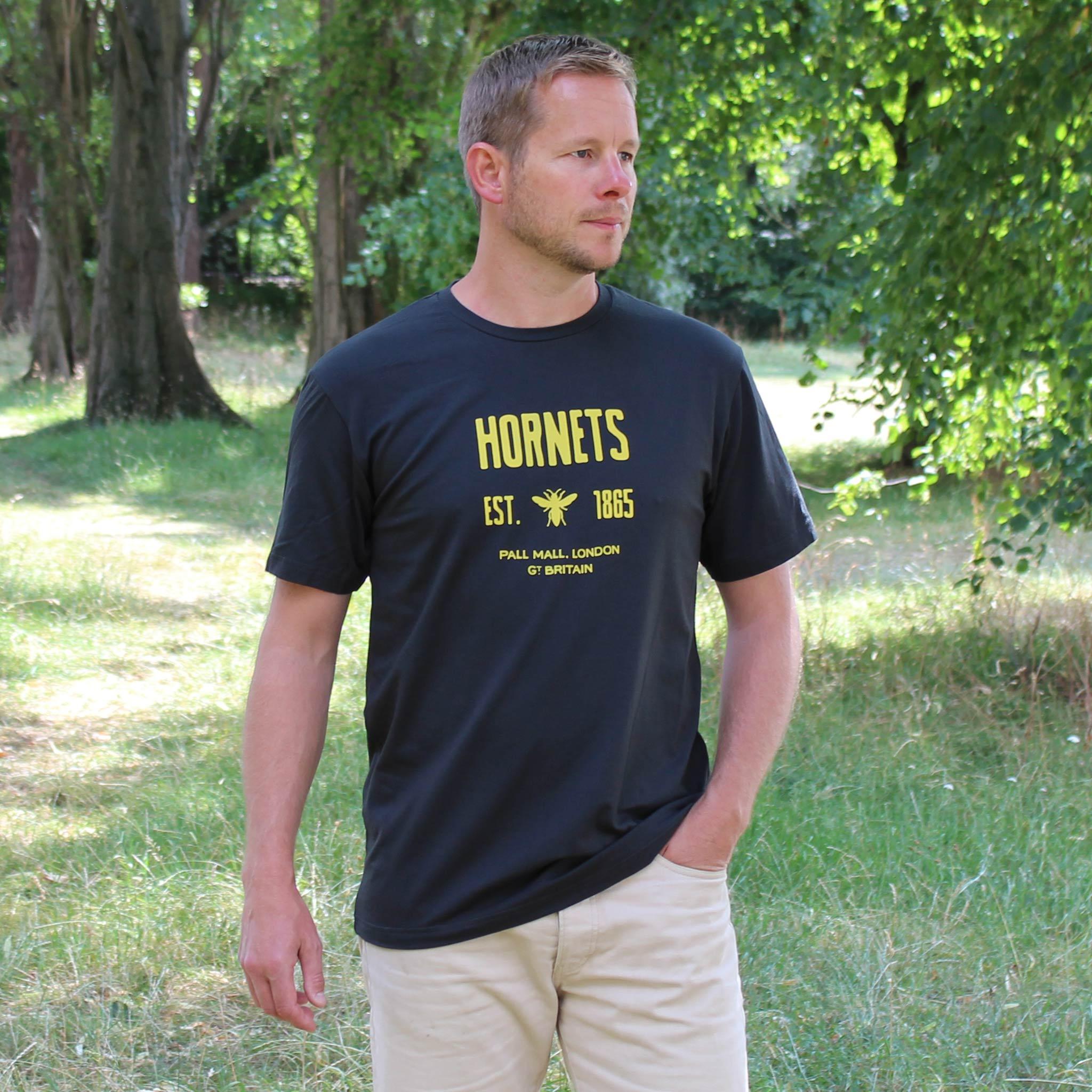 Hornets Navy T-shirt model