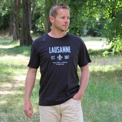 Lausanne Asphalt T-shirt Model