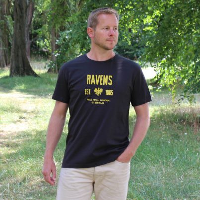 Ravens Navy T-shirt Model
