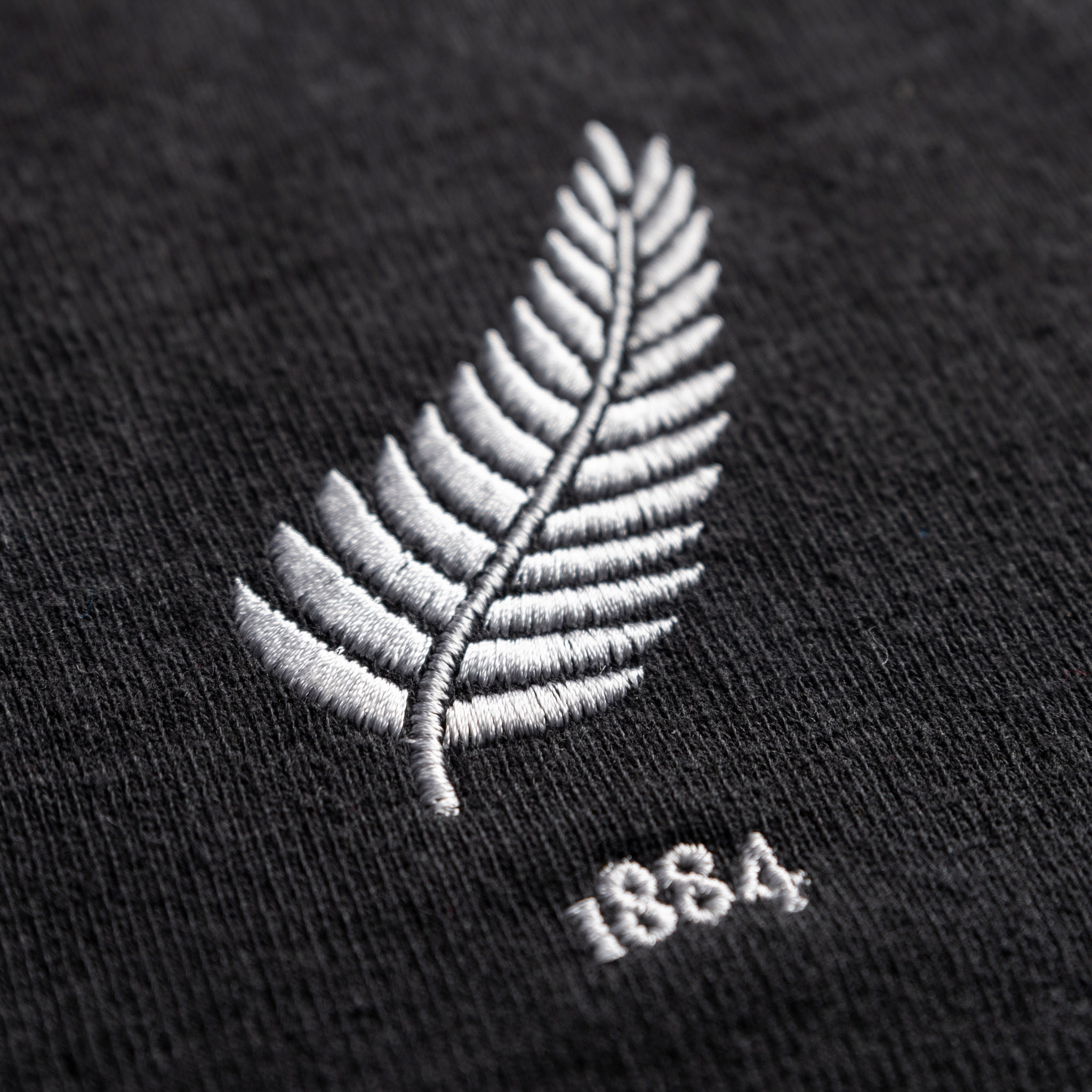 New Zealand 1884 Vintage Rugby Shirt_Logo