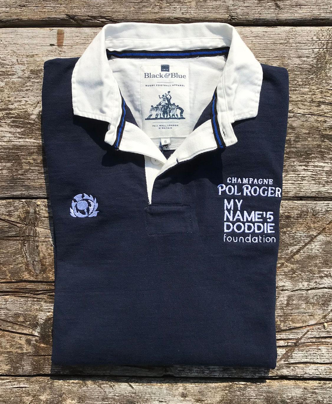 Pol Roger Champagne - Doddie Weir Rugby Shiirt