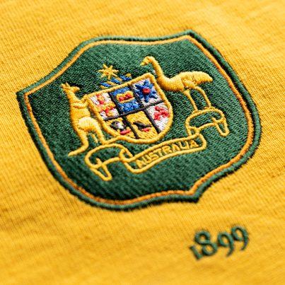 Australia 1899 Vintage Rugby Shirt_Logo