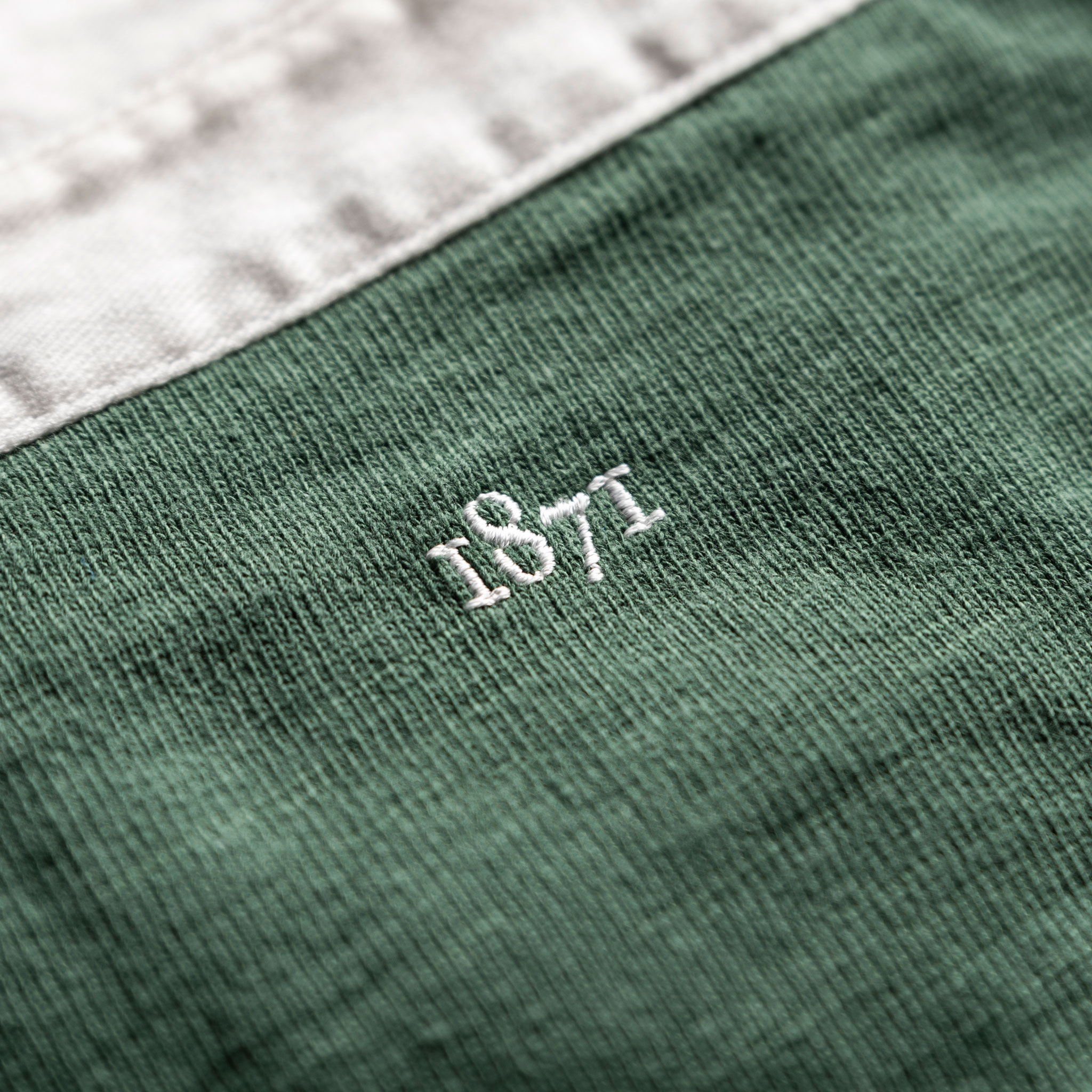 Classic Green 1871 Vintage Rugby Shirt_1871