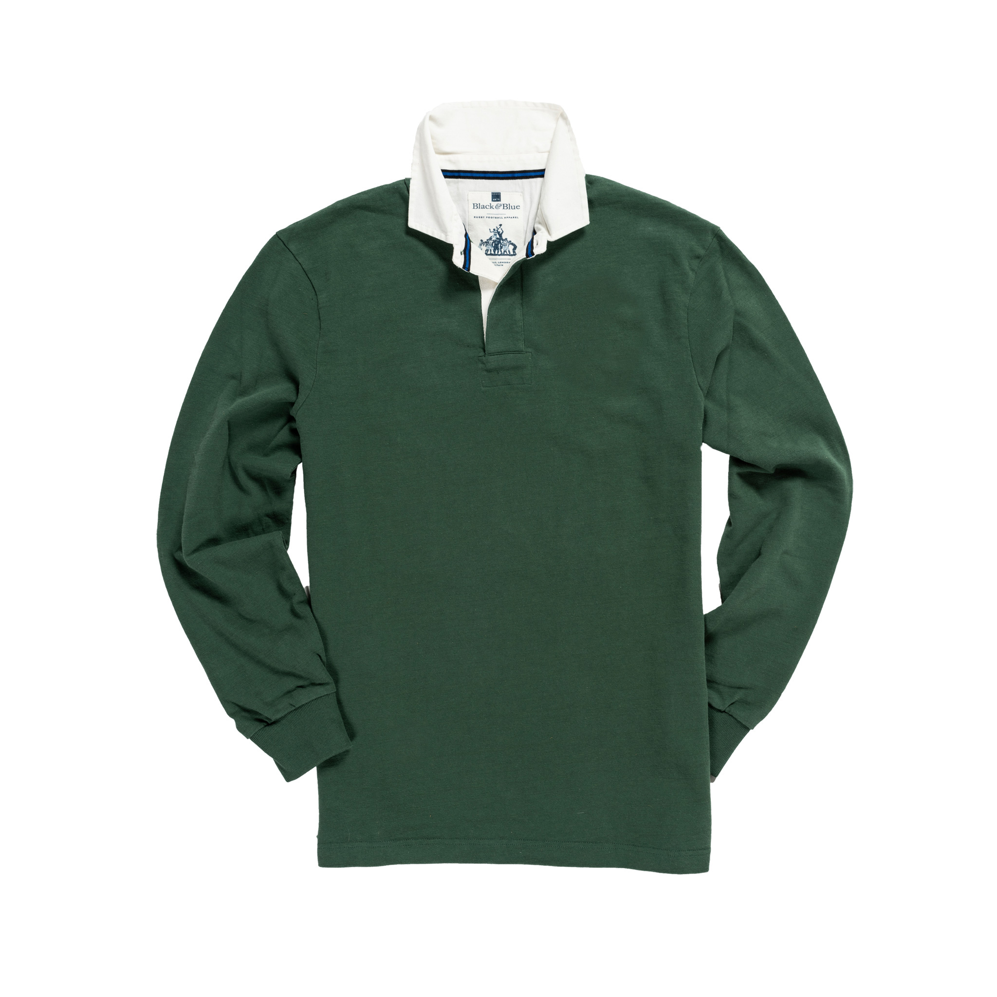 Classic Green 1871 Vintage Rugby Shirt