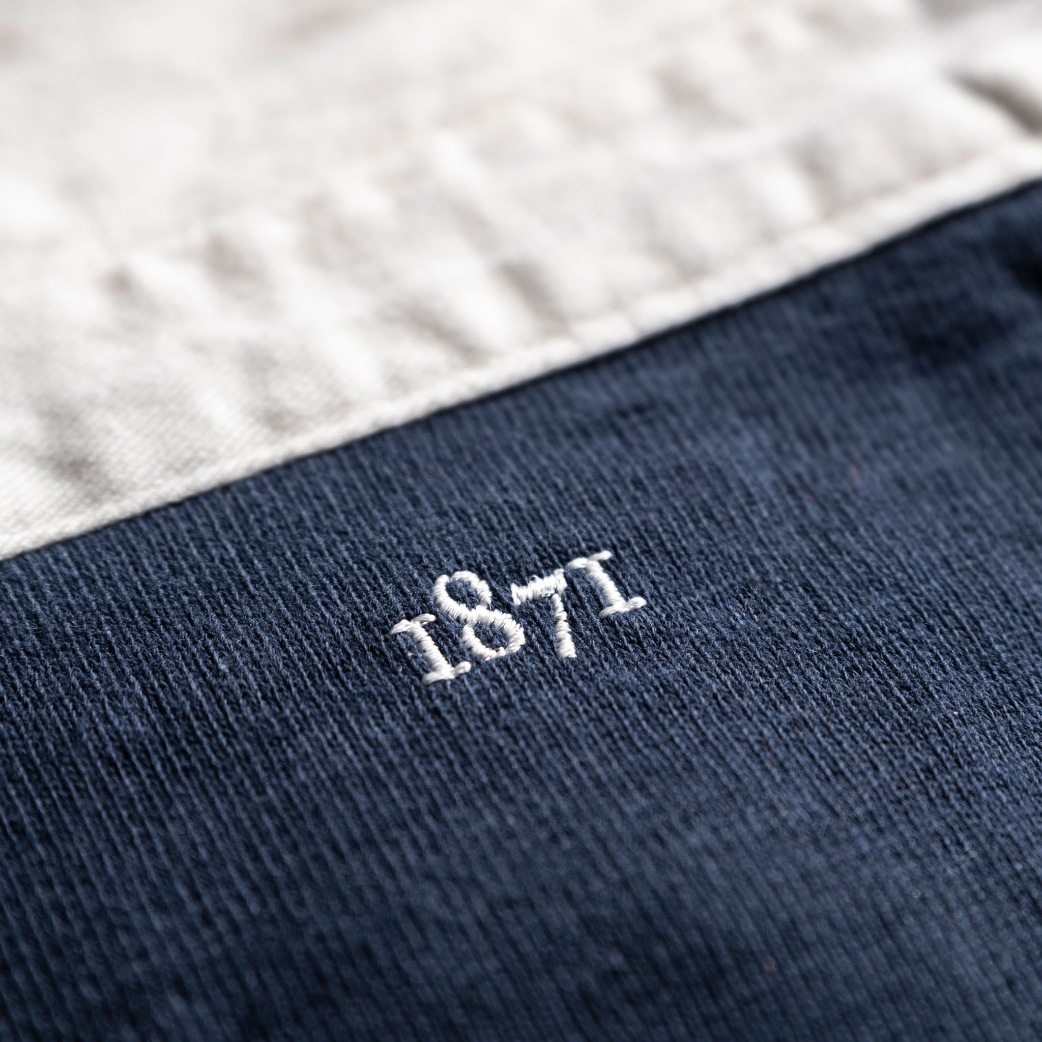Classic Navy 1871 Vintage Rugby Shirt_1871