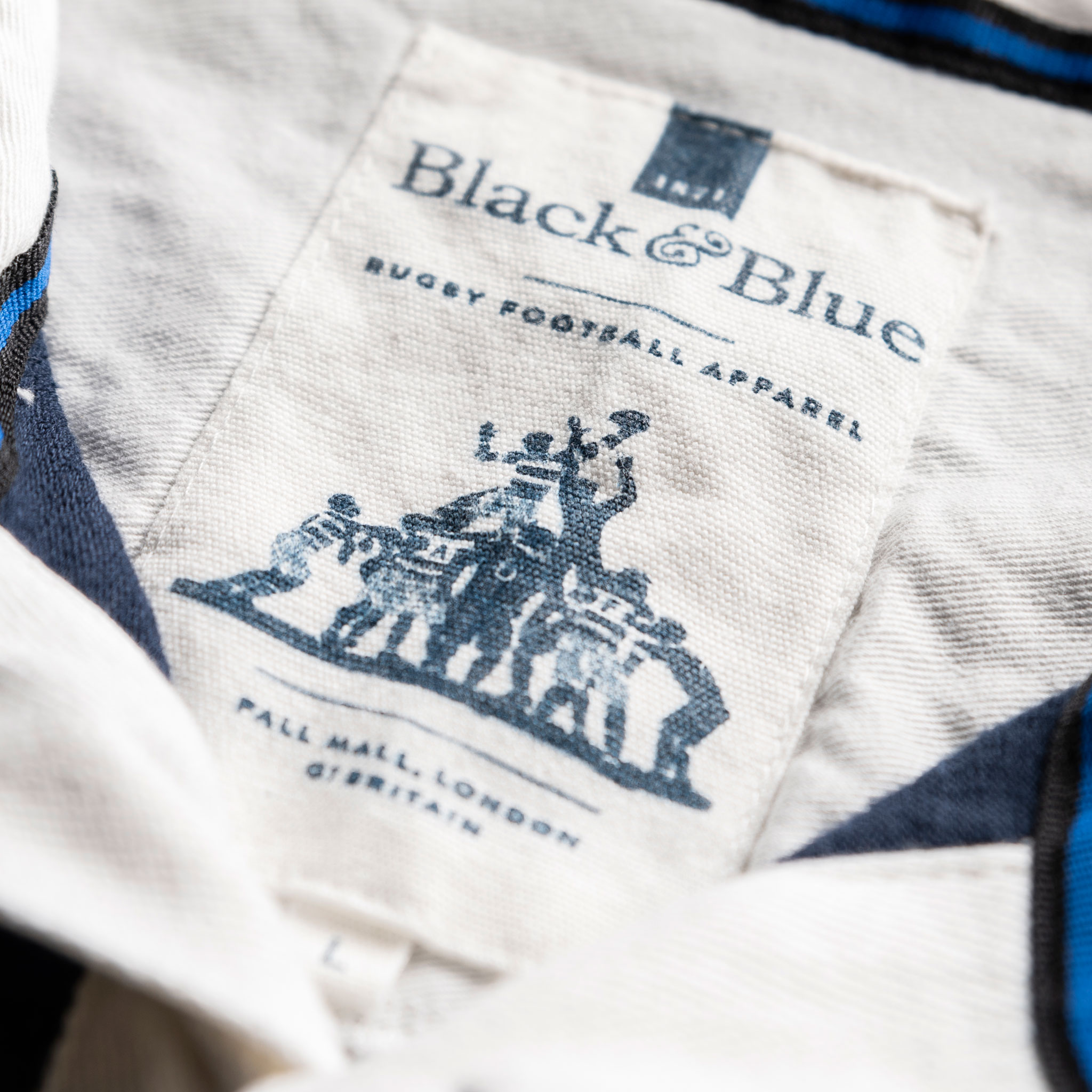 Classic Navy 1871 Vintage Rugby Shirt_BB Label