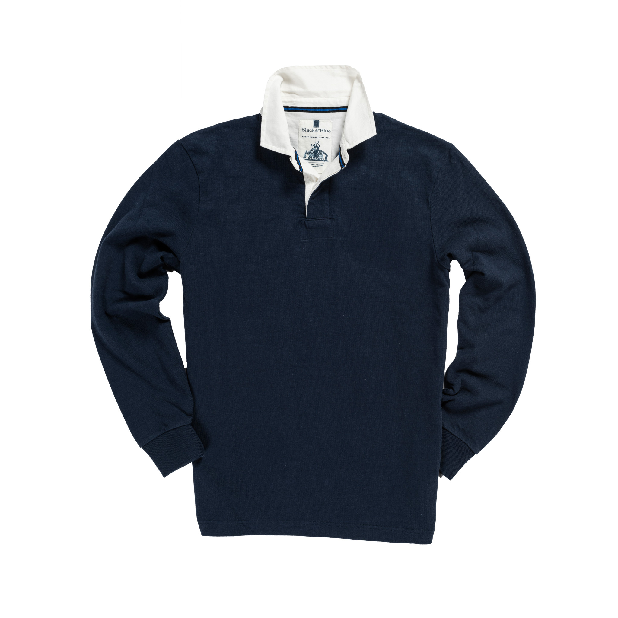 Classic Navy 1871 Vintage Rugby Shirt