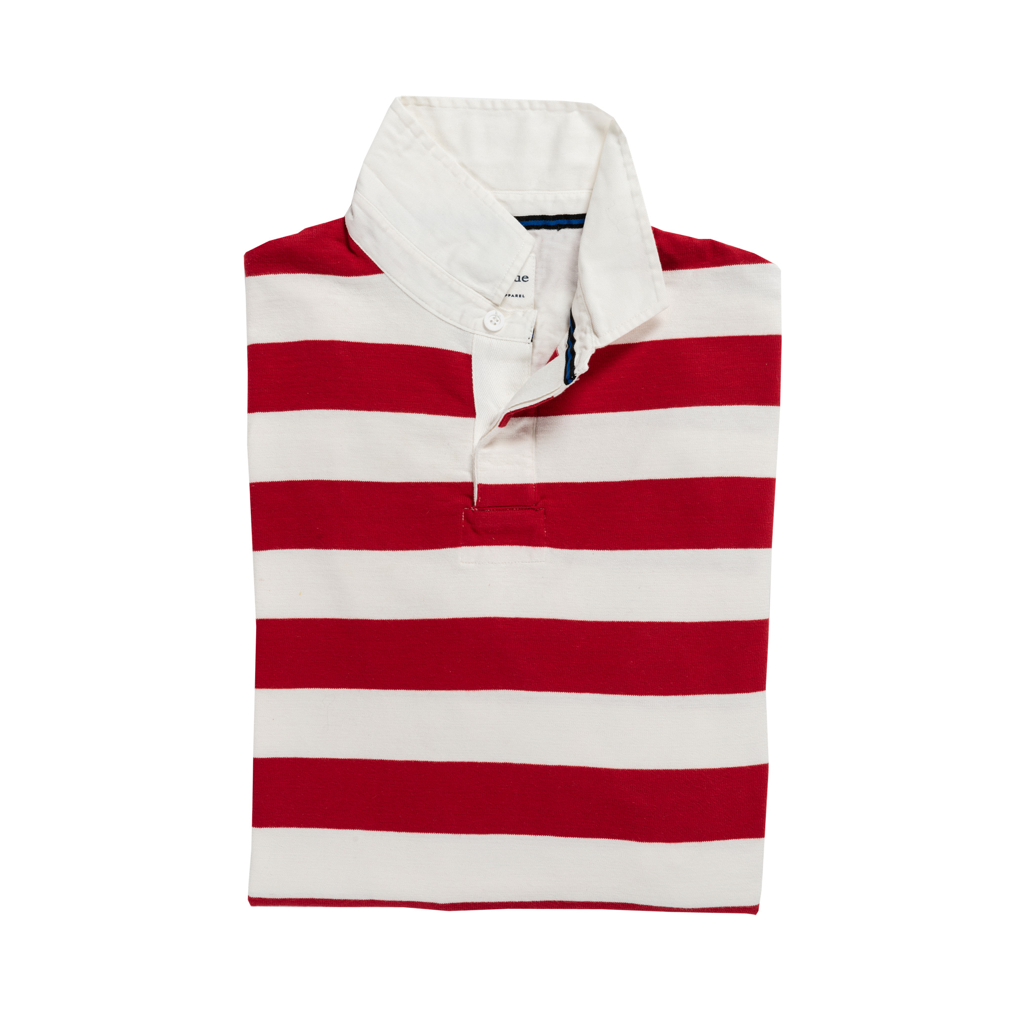 Classic Red and White 1871 Vintage Rugby Shirt