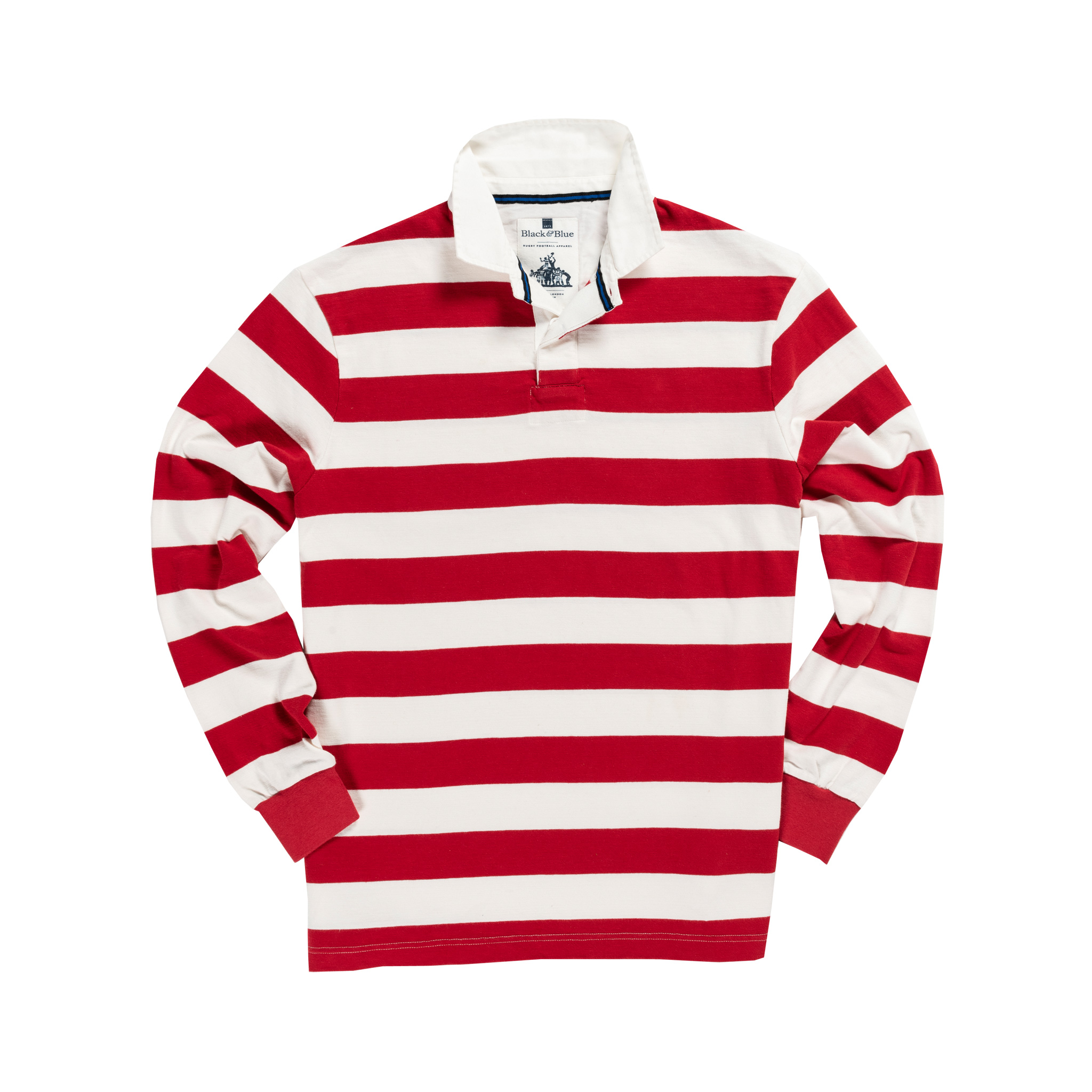 Clic Red White 1871 Rugby Shirt