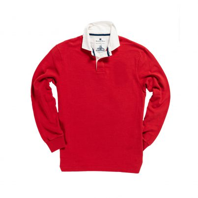 CLASSIC RED 1871 RUGBY SHIRT