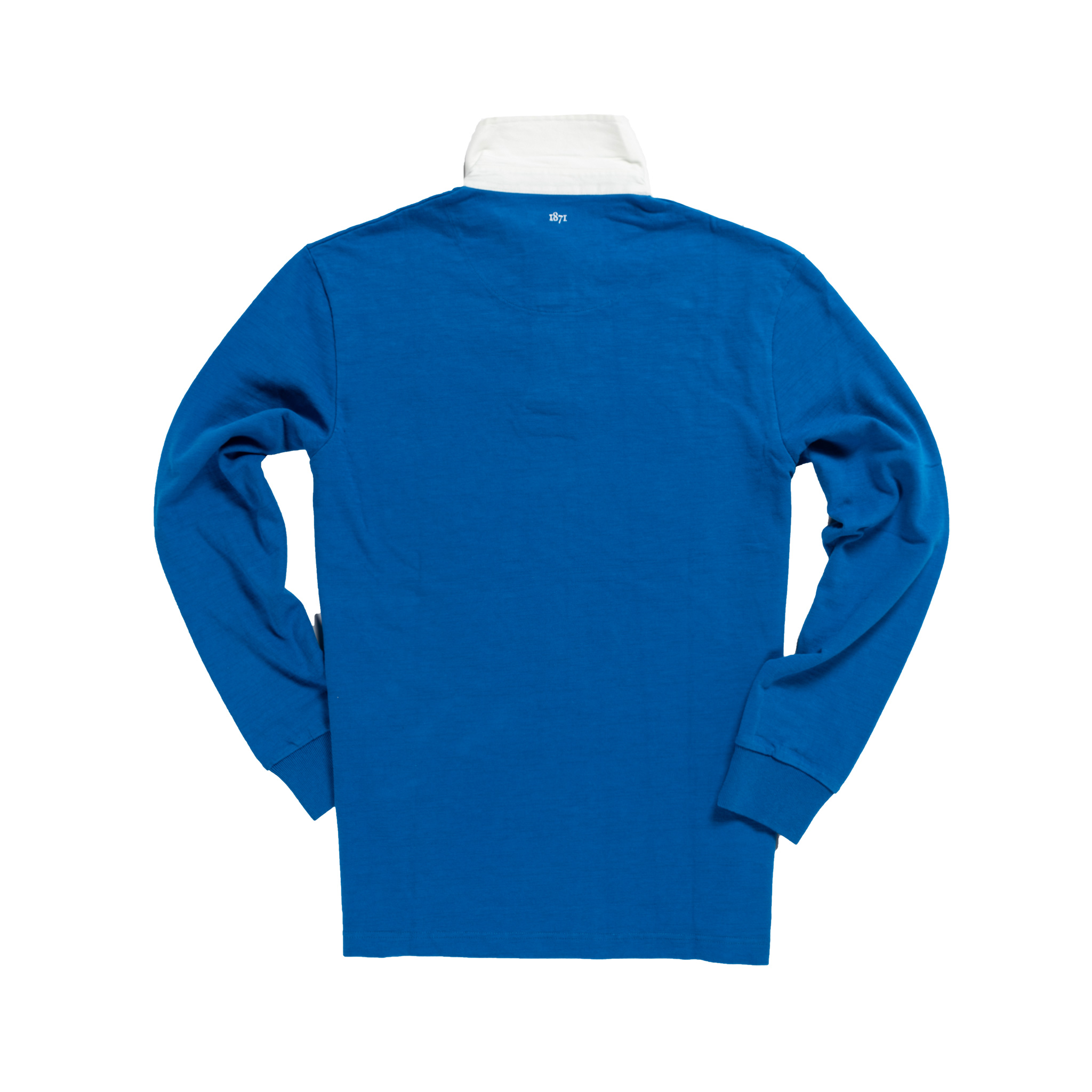 Classic Royal Blue 1871 Vintage Rugby Shirt