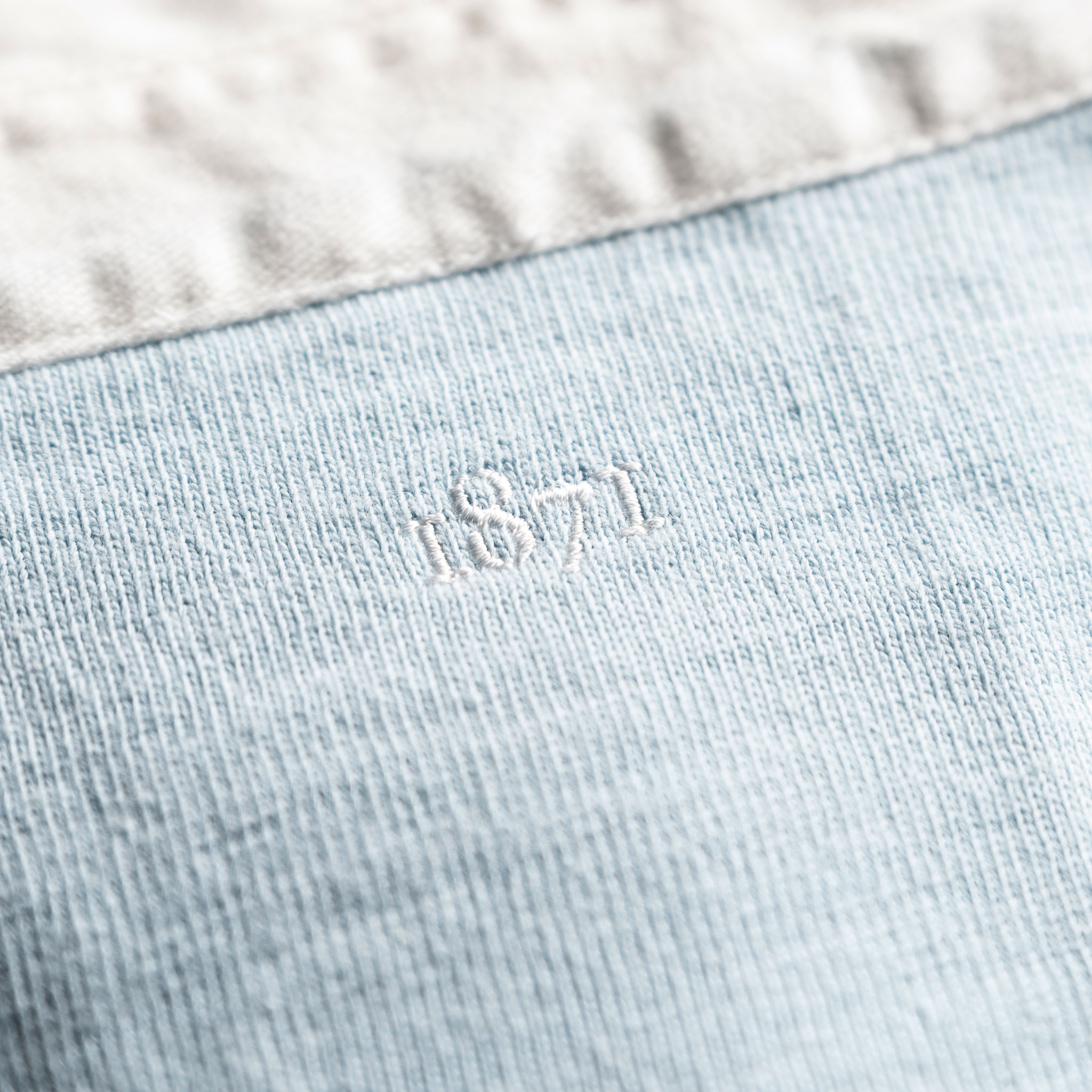Classic Sky Blue 1871 Vintage Rugby Shirt_1871