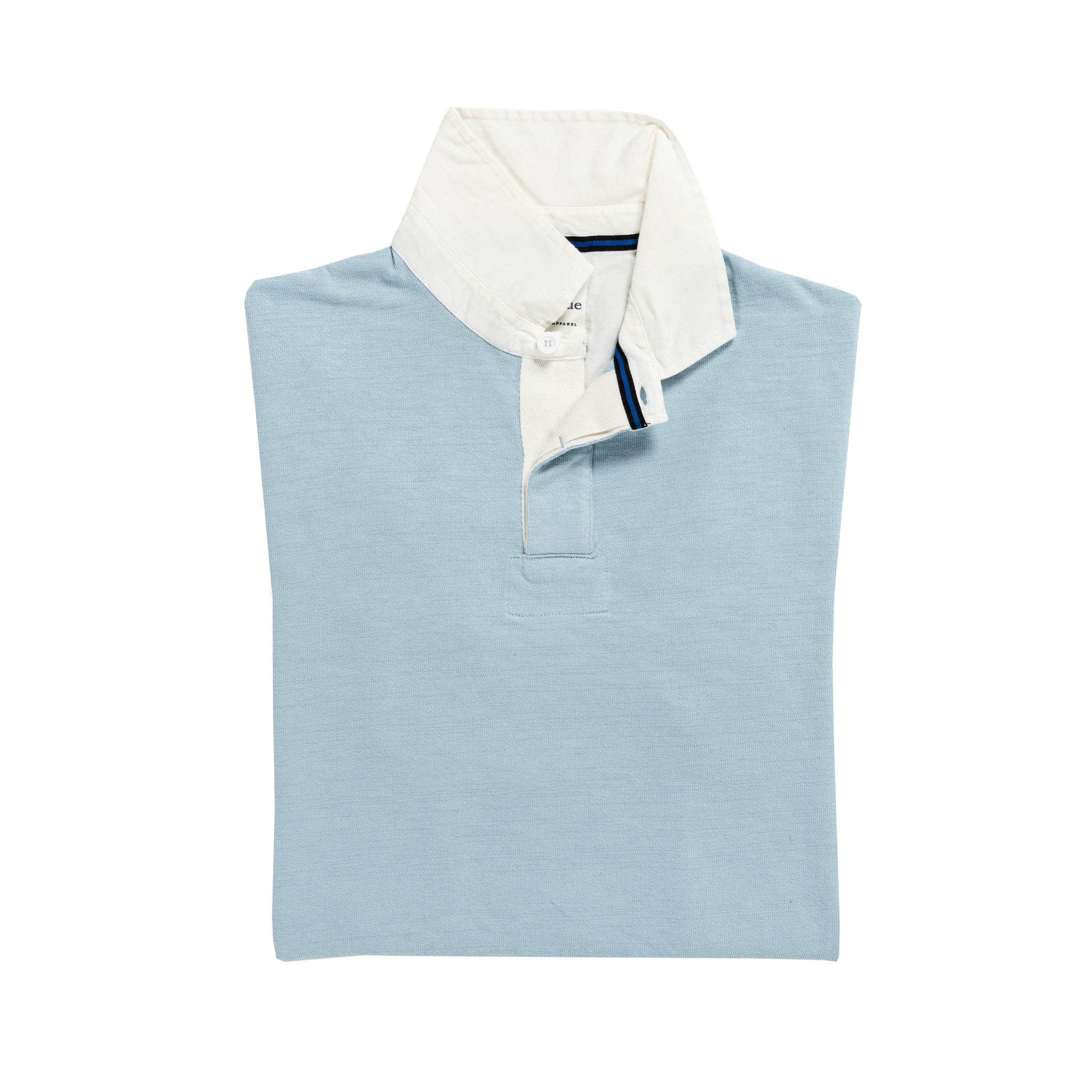 Classic Sky Blue 1871 Vintage Rugby Shirt