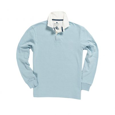 CLASSIC SKY BLUE 1871 RUGBY SHIRT