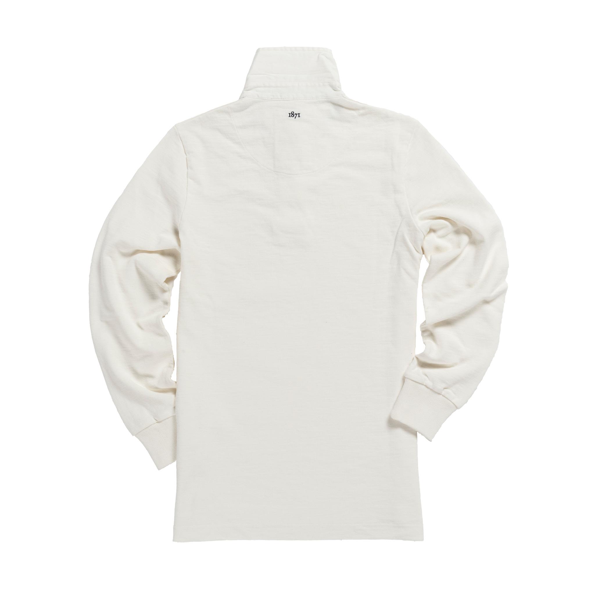 England 1871 Vintage Rugby Shirt_Back