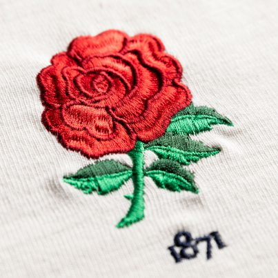 England 1871 Vintage Rugby Shirt_Rose Logo
