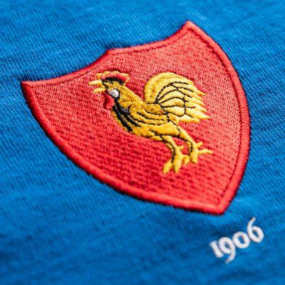 France 1906 Vintage Rugby Shirt_Logo