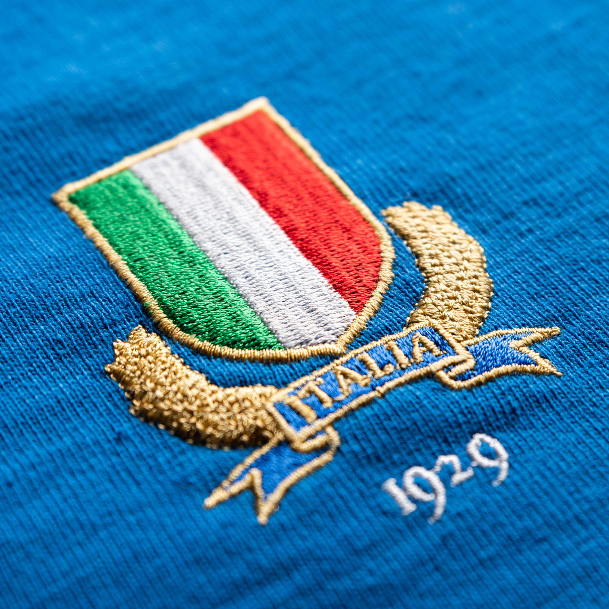 Italy 1929 Vintage Rugby Shirt_logo