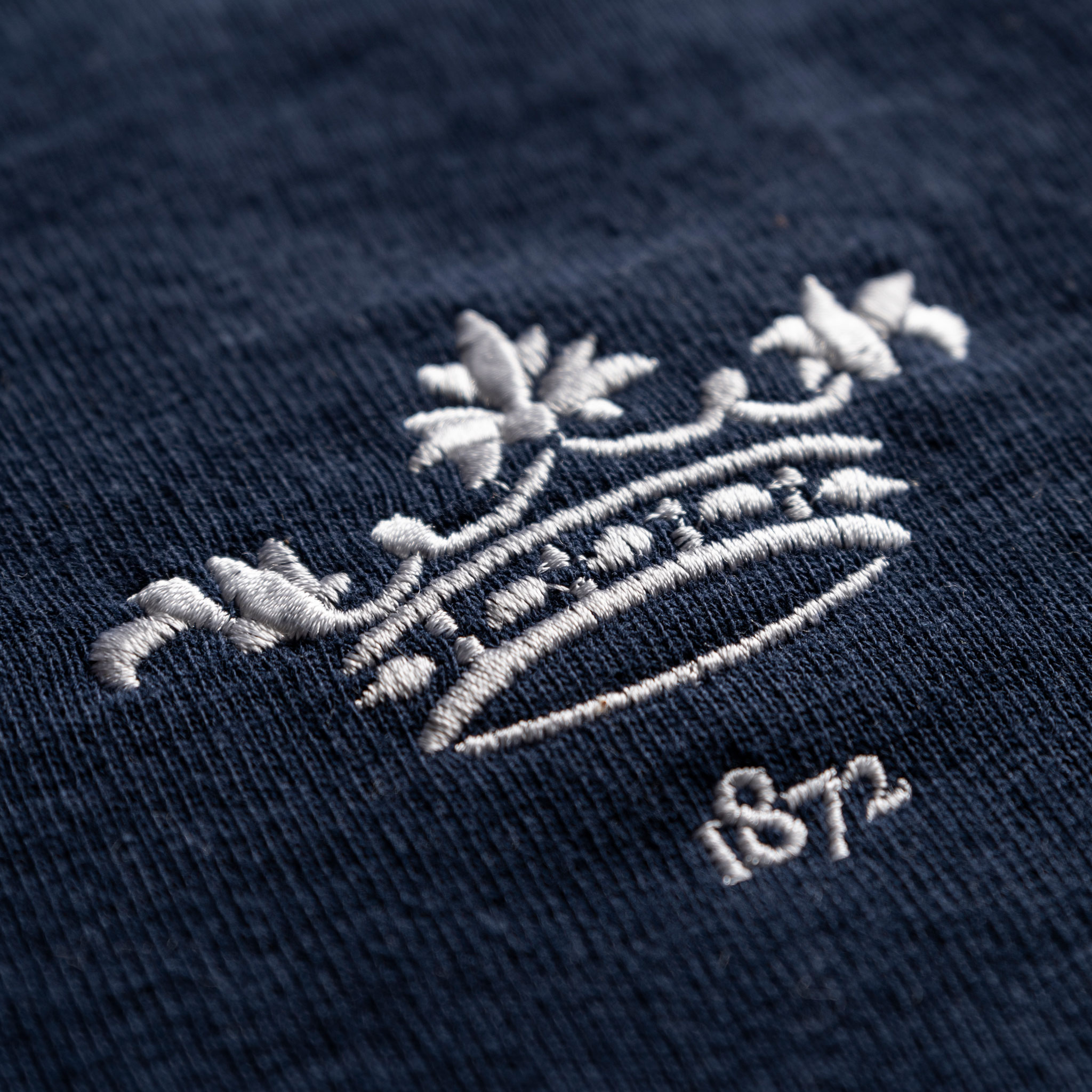 Women's Oxford 1872 Vintage Rugby Shirt_Logo