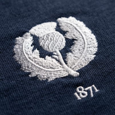 Scotland 1871 Vintage Rugby Shirt_Logo