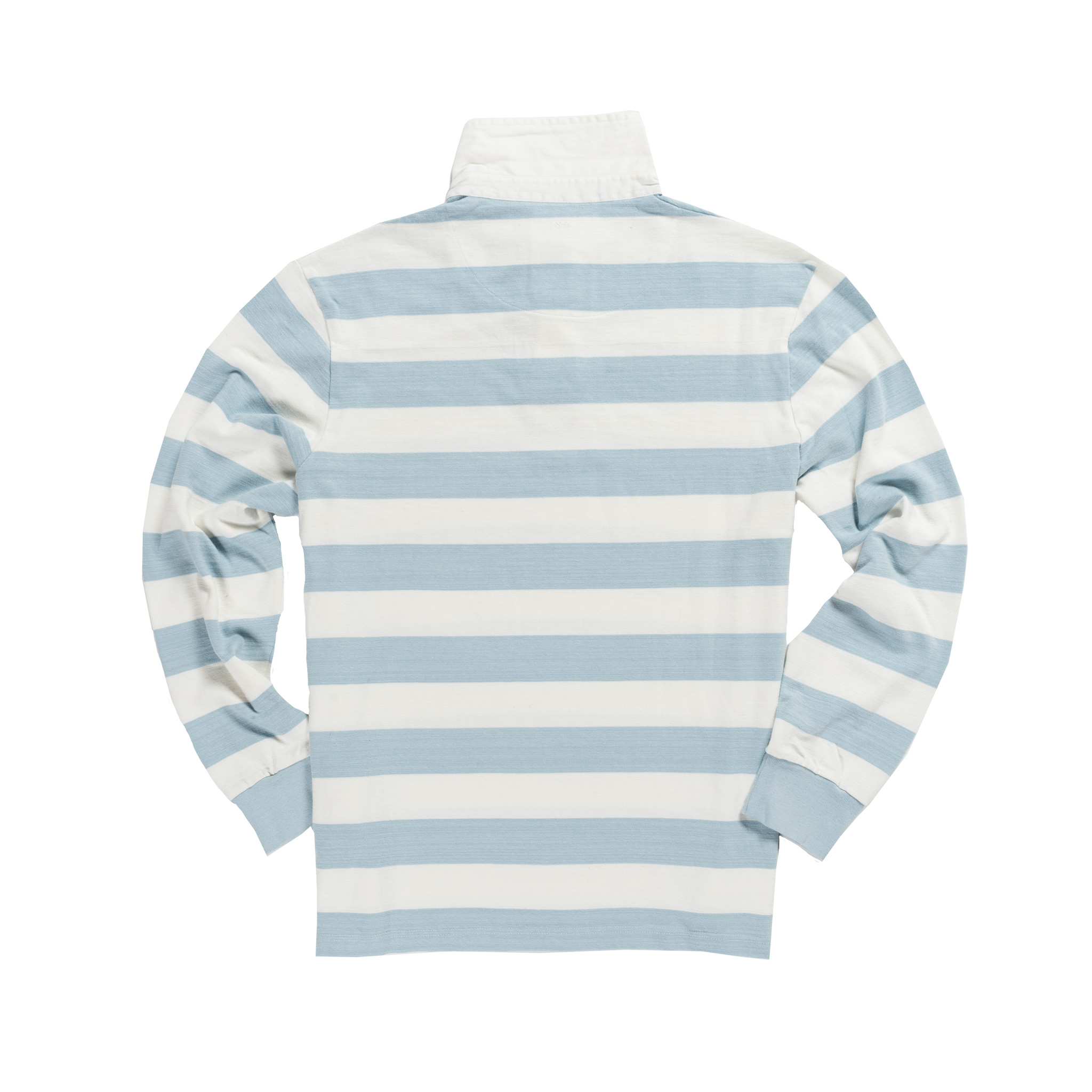 Classic Sky Blue and White 1871 Vintage Rugby Shirt
