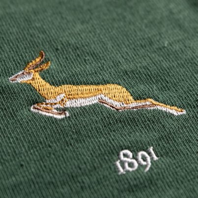 South Africa 1891 Vintage Rugby Shirt_Logo