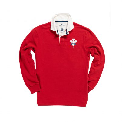 WALES 1881 RUGBY SHIRT