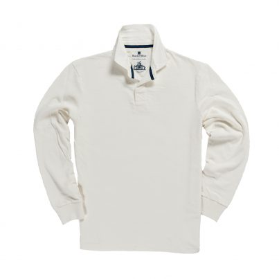 CLASSIC WHITE 1871 RUGBY SHIRT