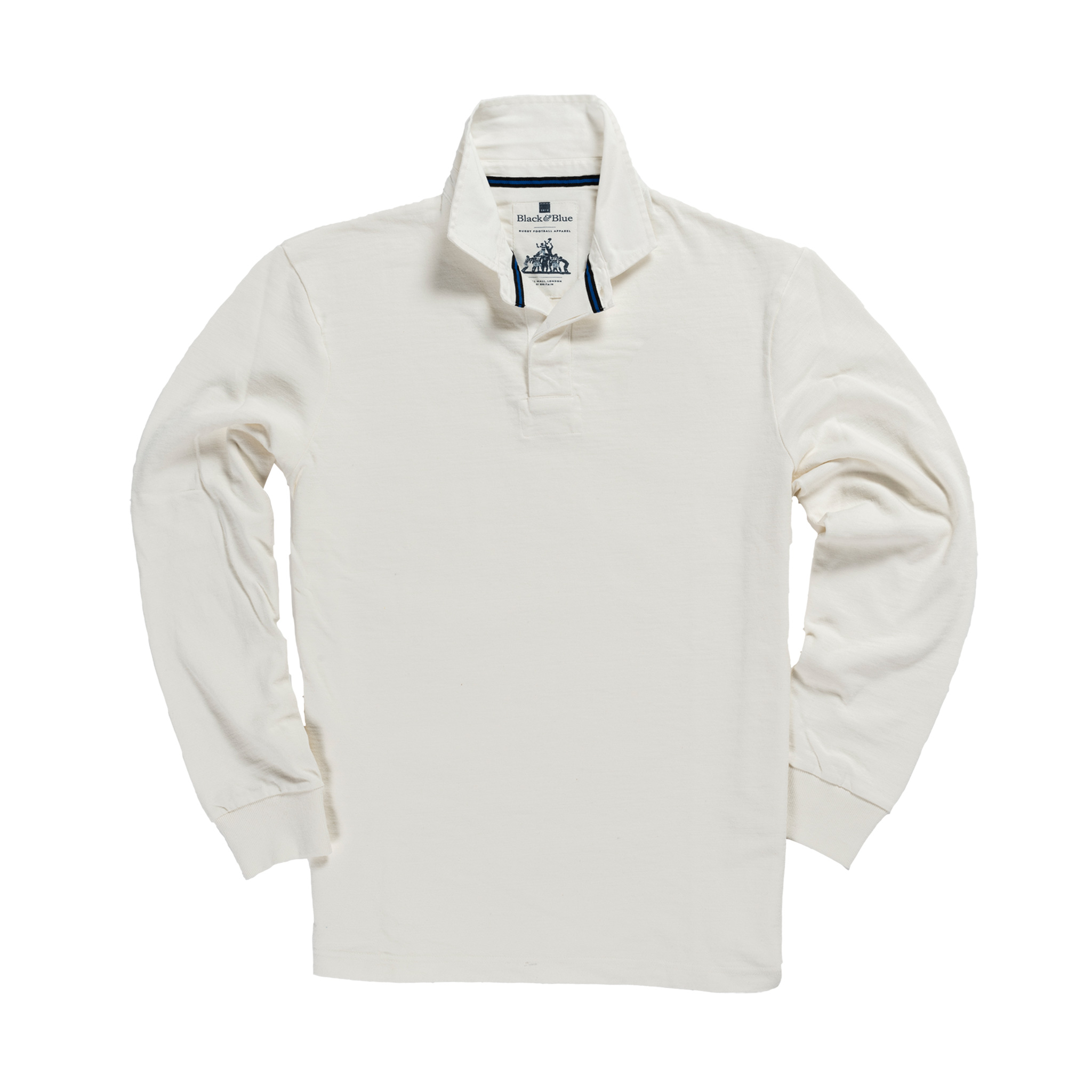 Classic White 1871 Vintage Rugby Shirt