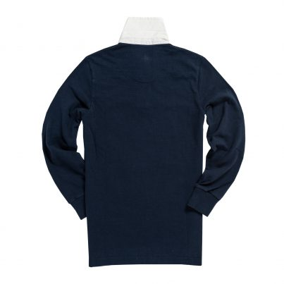Women's Classic Navy Blue 1871 Vintage Rugby Shirt
