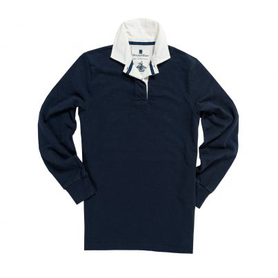 CLASSIC NAVY BLUE 1871 WOMEN'S RUGBY SHIRT