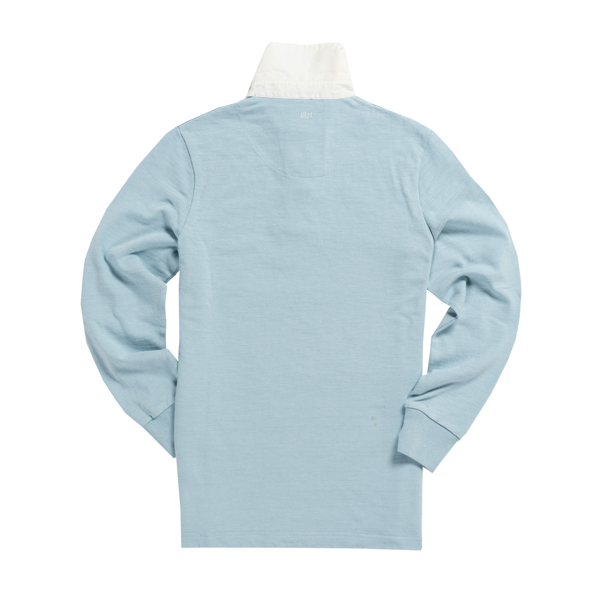 Women's Classic Sky Blue 1871 Vintage Rugby Shirt