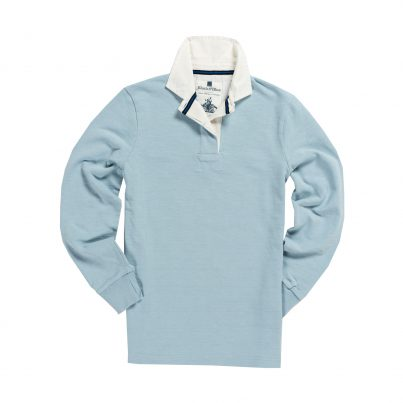 CLASSIC SKY BLUE 1871 WOMEN'S RUGBY SHIRT