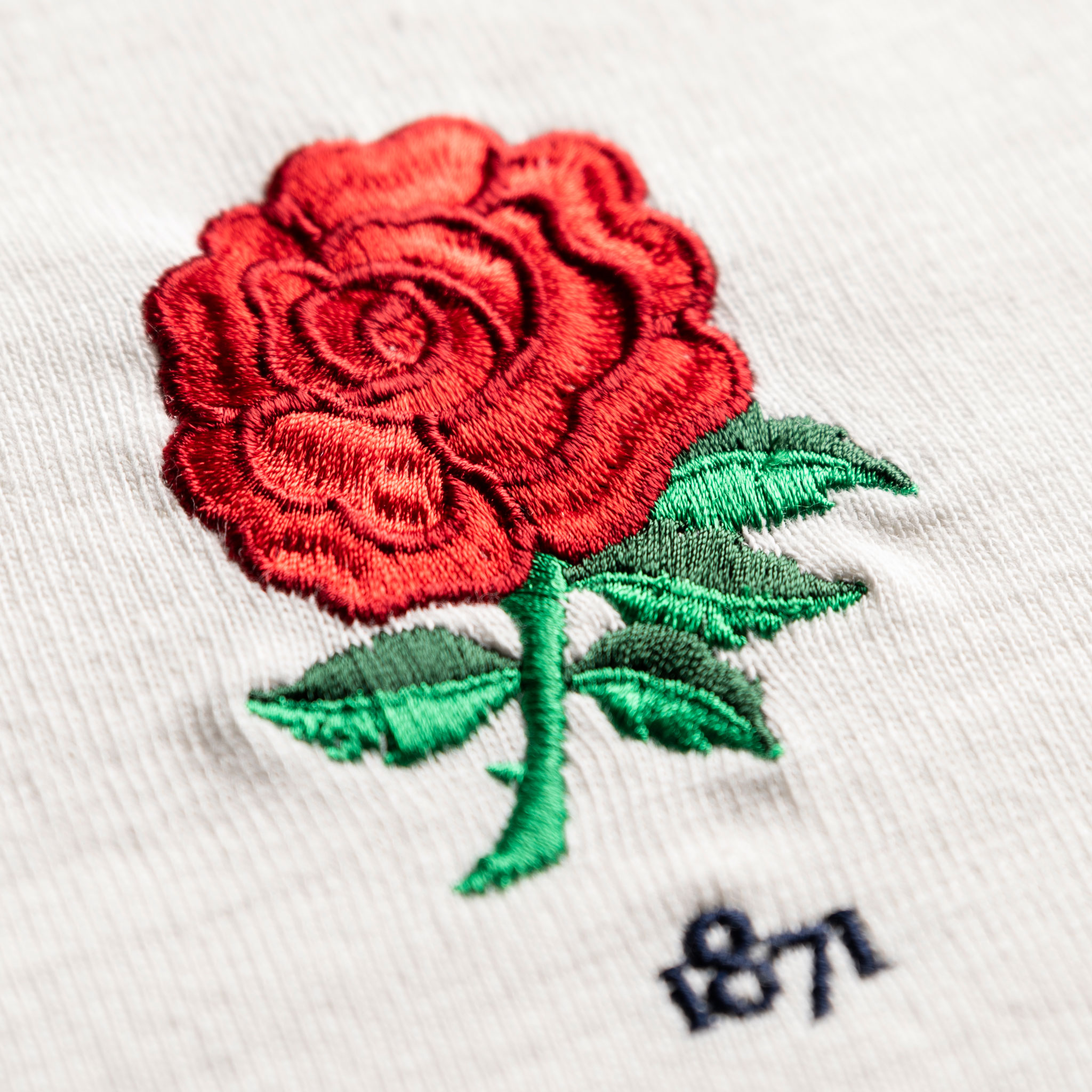 Women's England 1871 Vintage Rugby Shirt_Logo