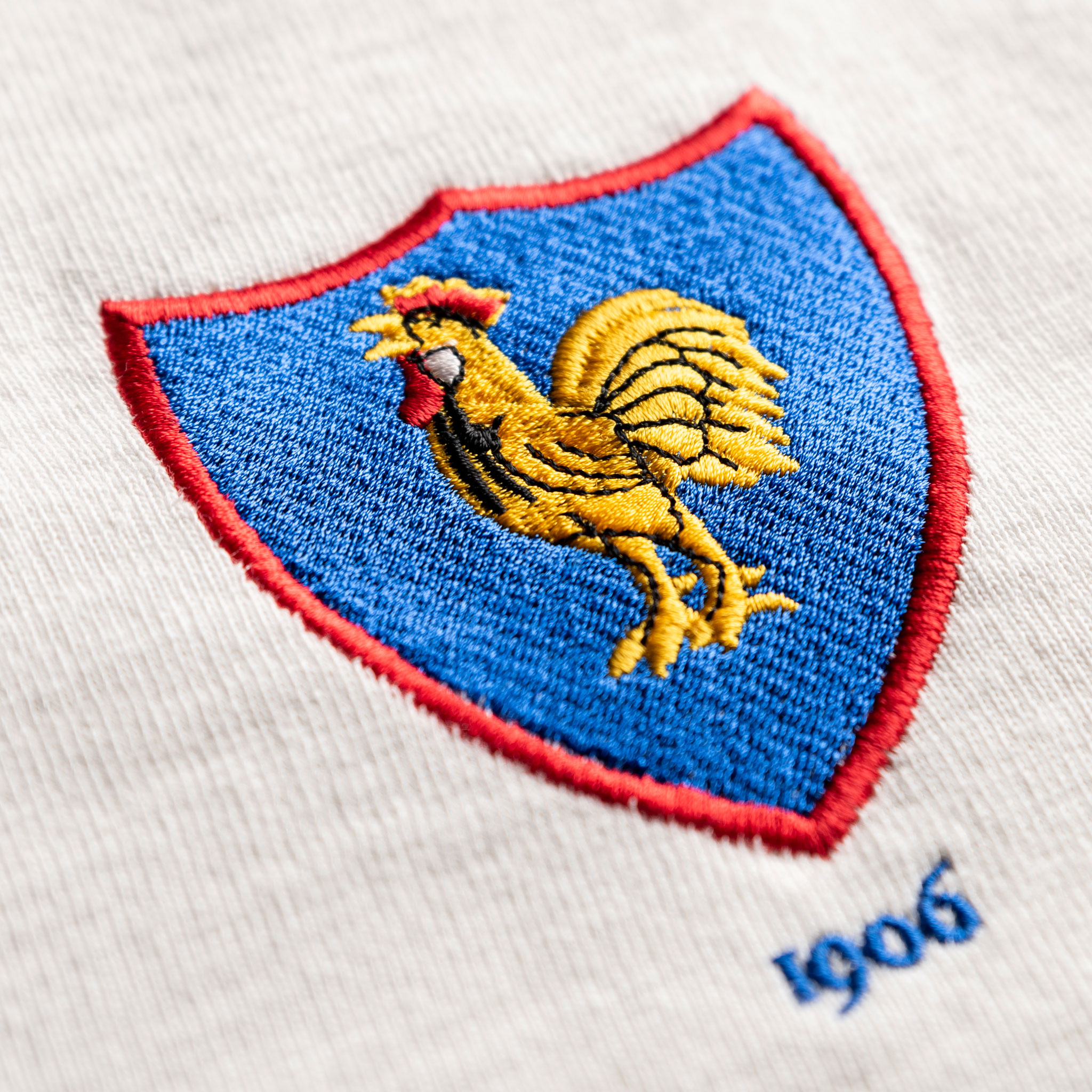 Women's France 1906 Vintage Rugby Shirt_Logo