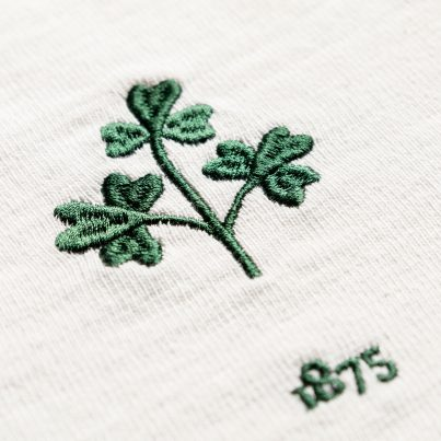 Women's Ireland 1875 Vintage Rugby Away Shirt_Logo