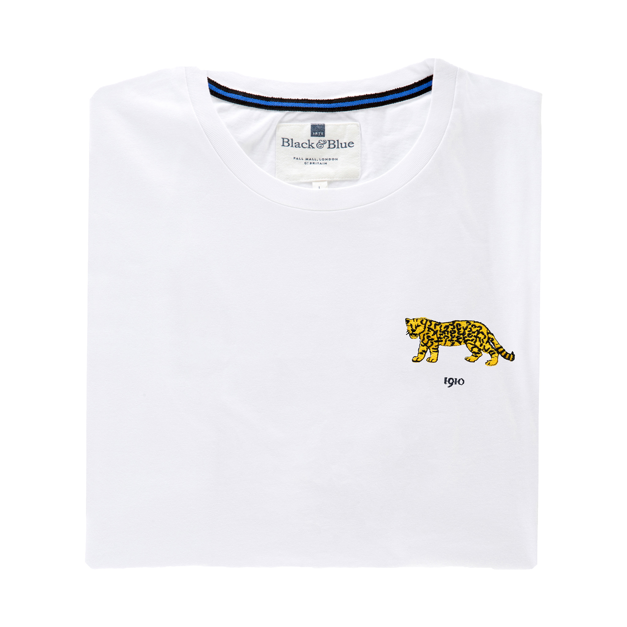 Argentina 1910 White T-Shirt_Folded