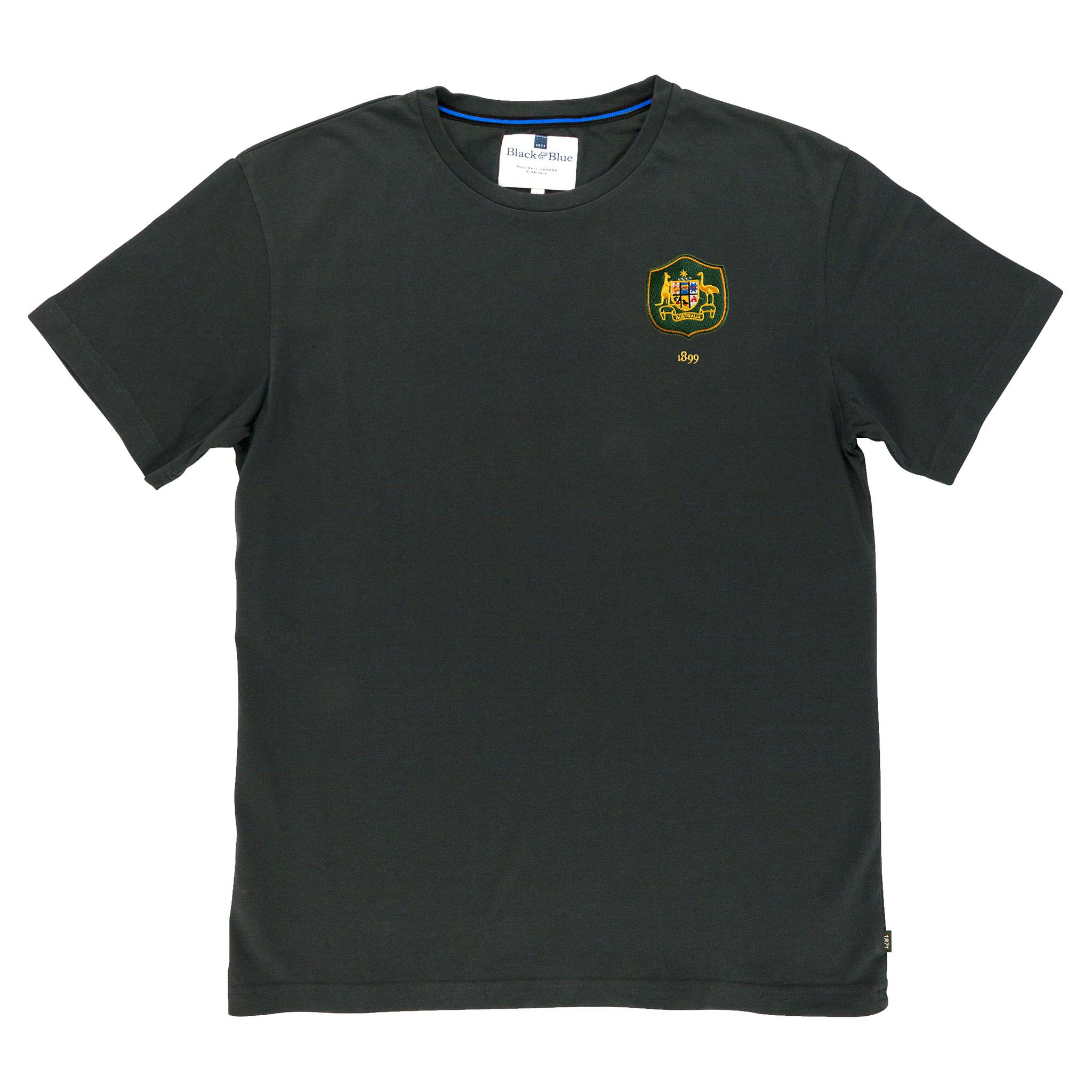 Australia 1899 Asphalt T-Shirt_Front