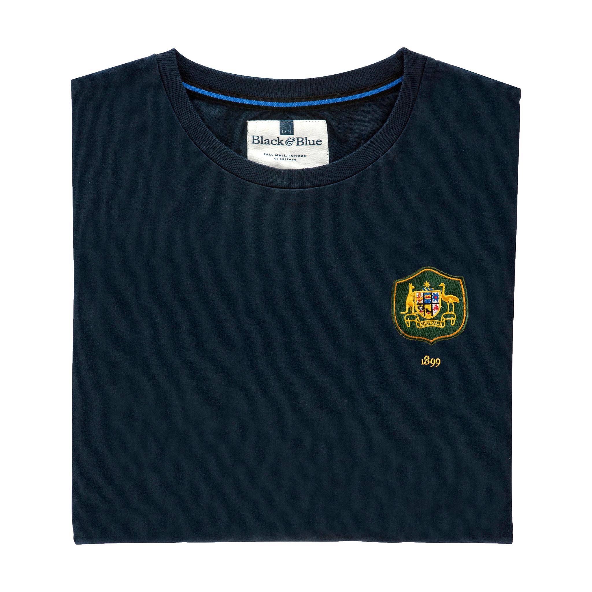 Australia 1899 Navy T-Shirt_Folded