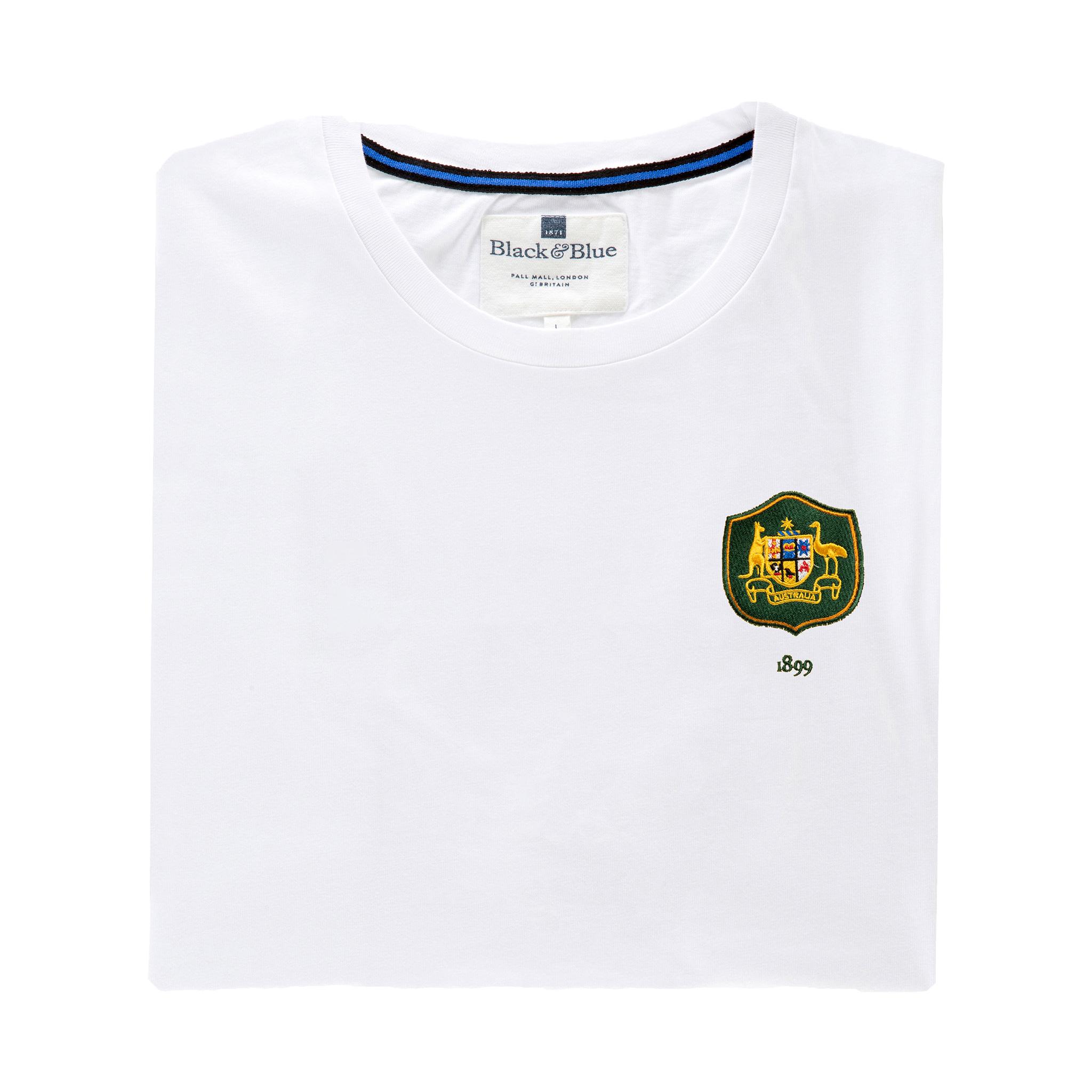 Australia 1899 White T-Shirt_Folded