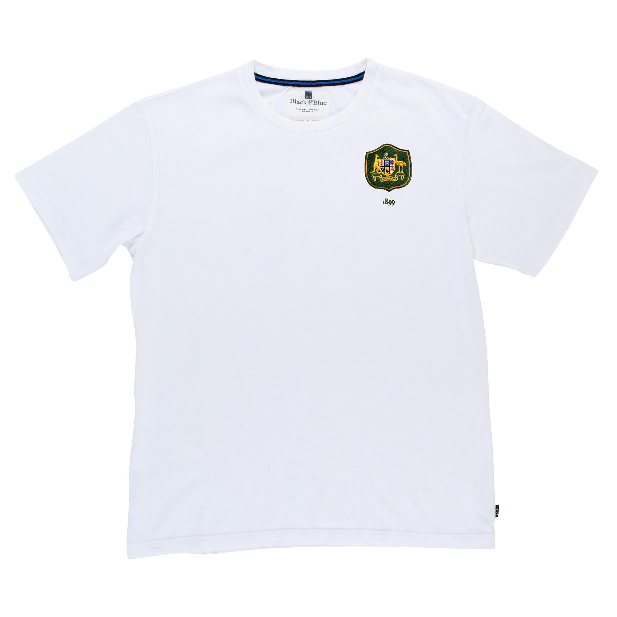 Australia 1899 White T-Shirt_Front