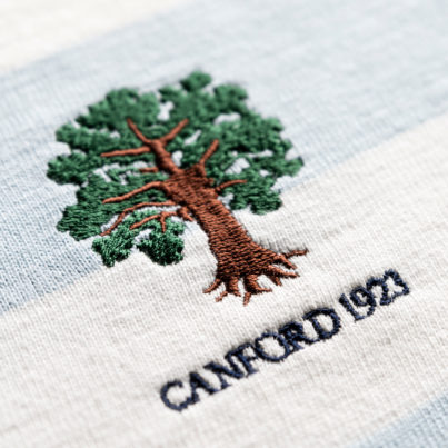 Canford School 1923 Vintage Women's Rugby Shirt Logo