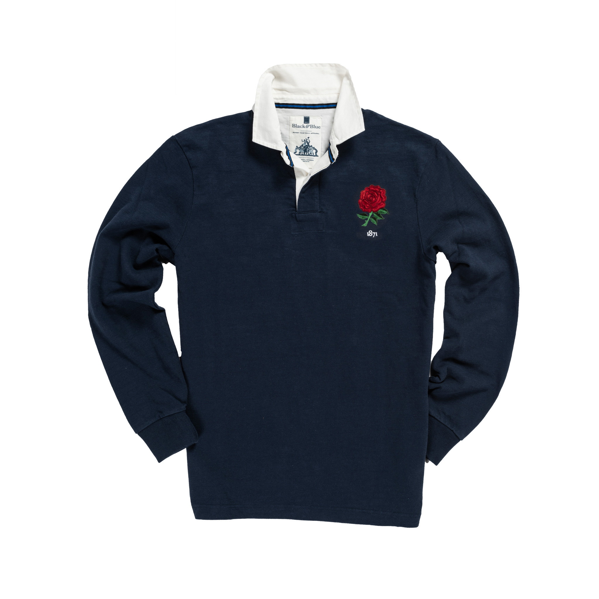England 1871 Vintage Rugby Away Shirt