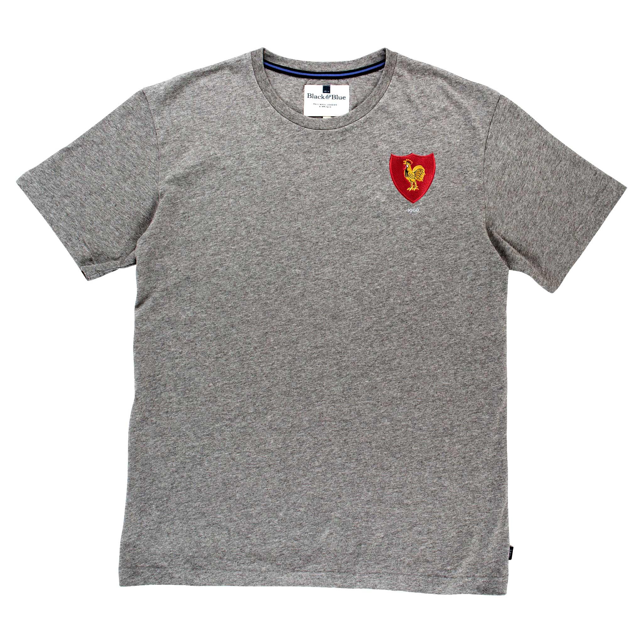 France 1906 Grey T-Shirt_Front