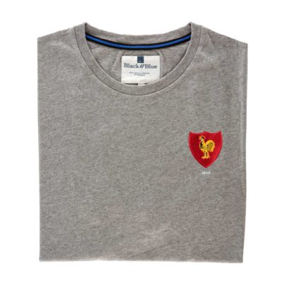 France 1906 Grey T-Shirt_Folded