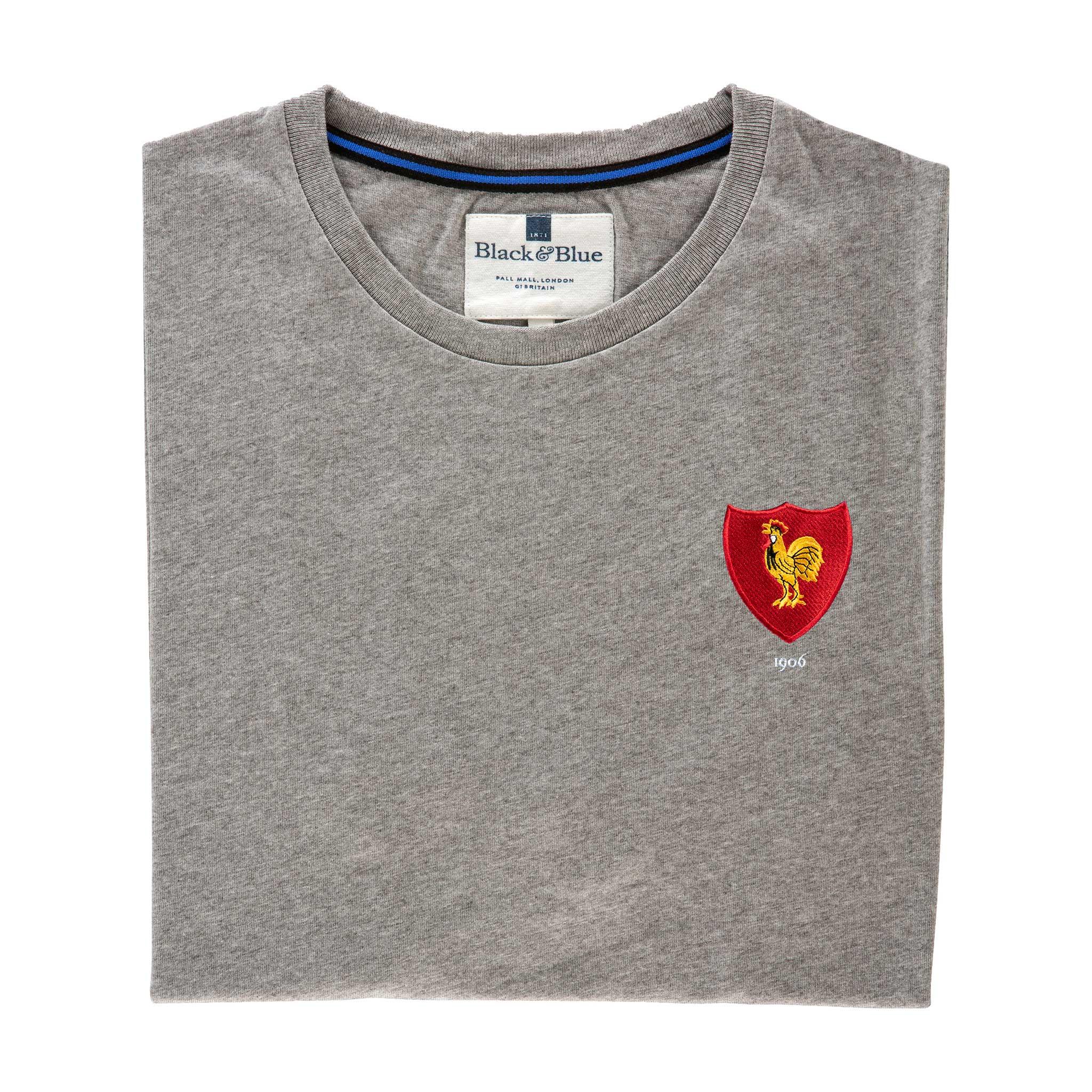 France 1906 Grey T-Shirt_Folded