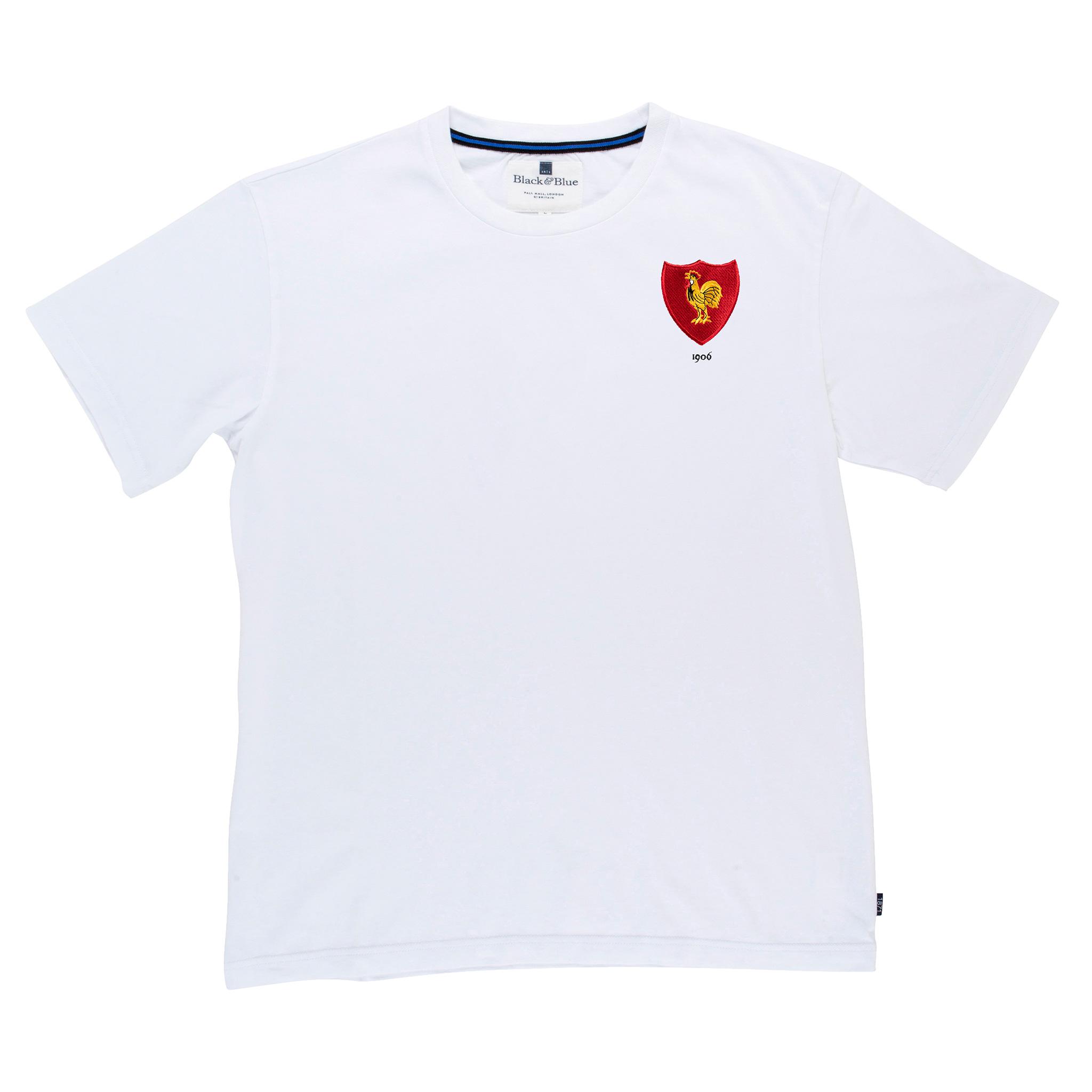 France 1906 White T-Shirt_Front